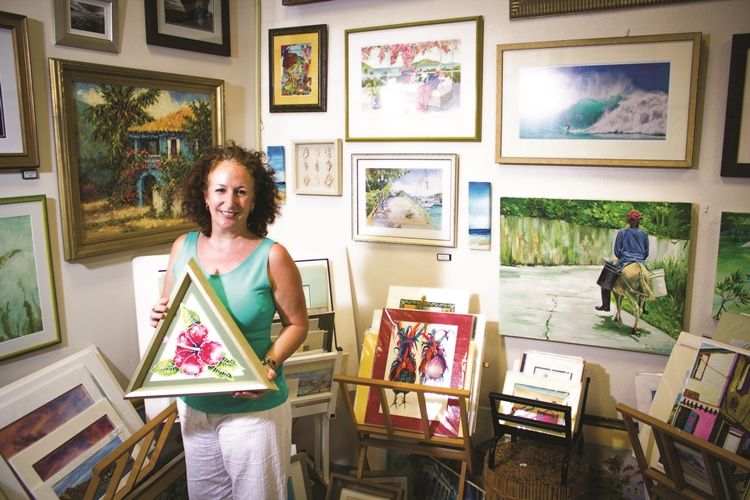 A BVI Art Gallery with a Difference - Lisa Muddiman-Gray