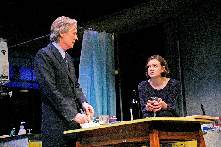 2. Bill Nighy (Tom Sergeant) and Carey Mulligan (Kyra Hollis), photo by John Haynes