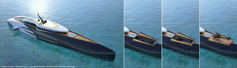 Helideck and Hangar Nemo Concept