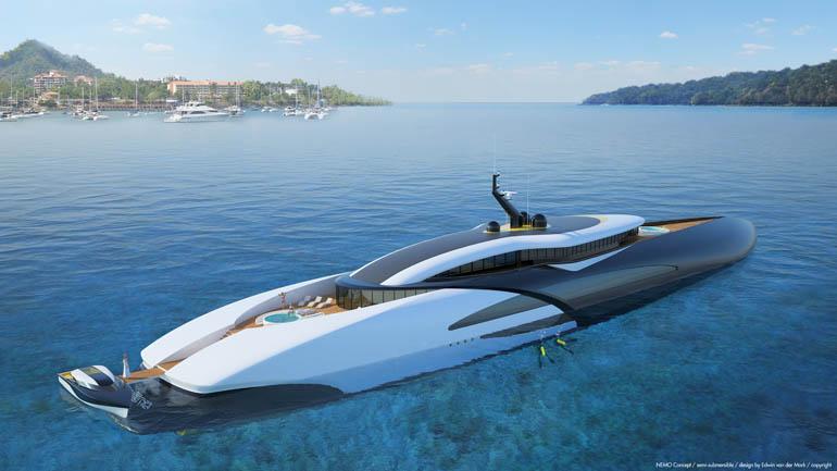 NEMO Concept Semi submersible under