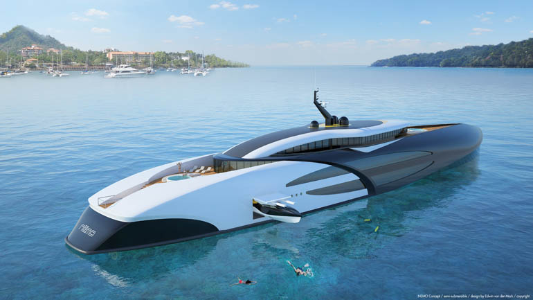 NEMO Concept Semi submersible up