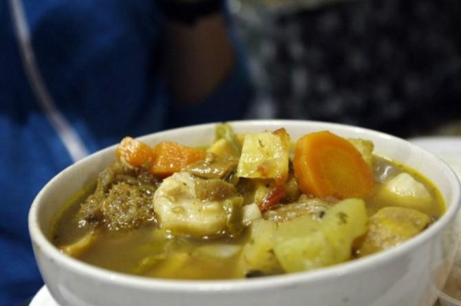 cow foot soup