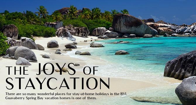 The joys of staycation