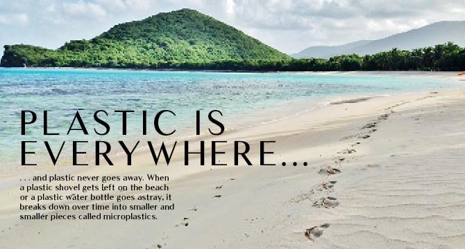 Plastic is everywhere