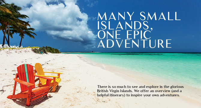 Many small islands. One epic adventure